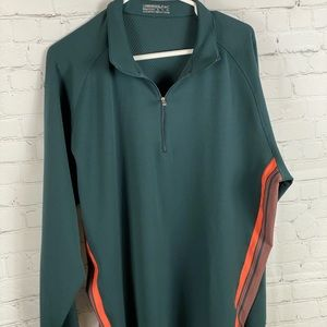 Nike Fit Dry Long Sleeve Golf 1/4 zip Size XL